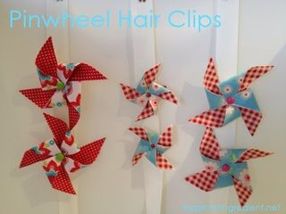 Pinwheel hair clips for blog 2
